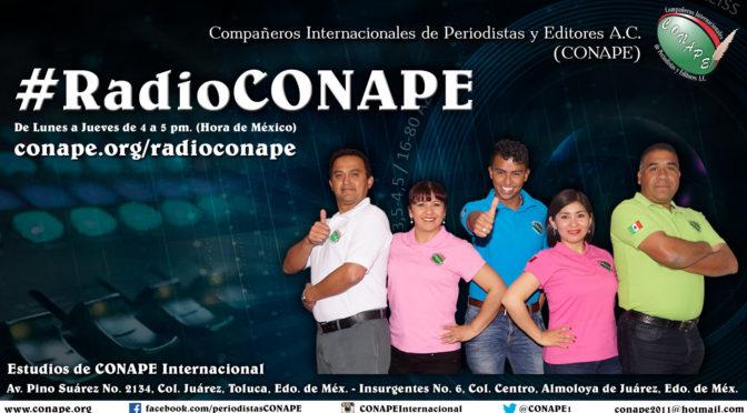 #RadioCONAPE en vivo – Programa del 14 de Febrero de 2019