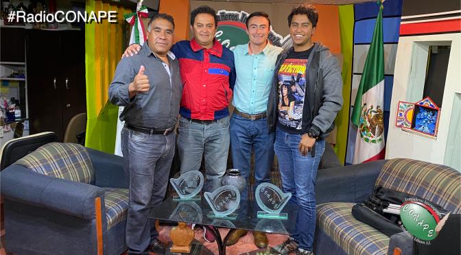 #RadioCONAPE – Entrevista con el Ing. Alfredo Ivan Alvarez, Presidente de la Red Juventud Popular