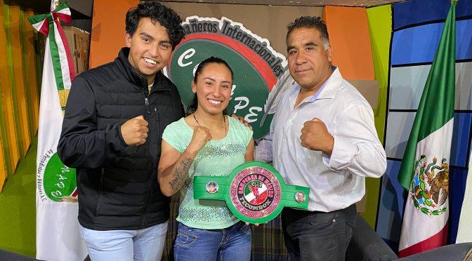 #RadioCONAPE – Entrevista con la boxeadora Edith 'La Pantera' Flores, Campeona Nacional