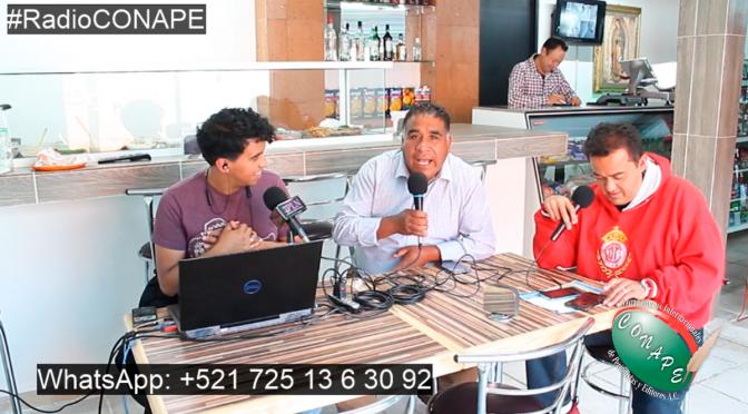 """#RadioCONAPE en vivo – Transmitiendo desde """"Tortas y abarrotes Froylan"""" (15/01/2020)"""