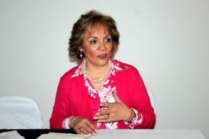 Carmen Villavicencio Caballero, investigadora y organizadora de la Mesa-Panel Los paradigmas del mundo actual y el cambio climático del 10o. Foro de Cambio Climático y Desarrollo Sustentable.