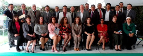 Estructura e invitados de AECHAC