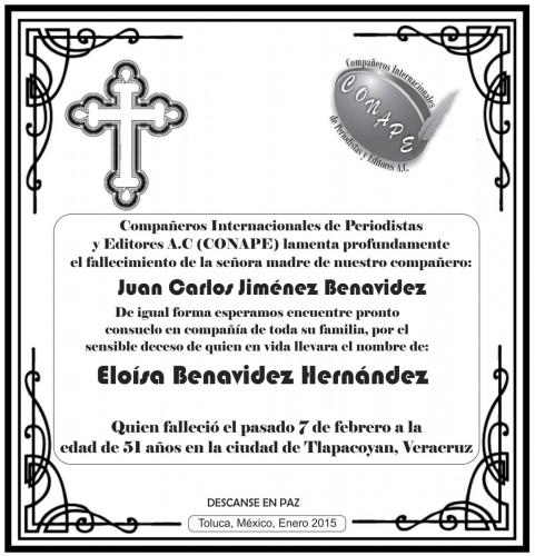 Esquela-Eloisa-Benavidez-Hernandez