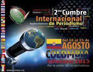 CUMBRE INTERNACIONAL DE PERIODISMO COLOMBIA 2015 - CONAPE