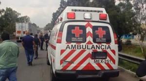 Agresión a tercera persona ocasiona herida de arma de fuego a elemento de Cruz Roja Mexicana