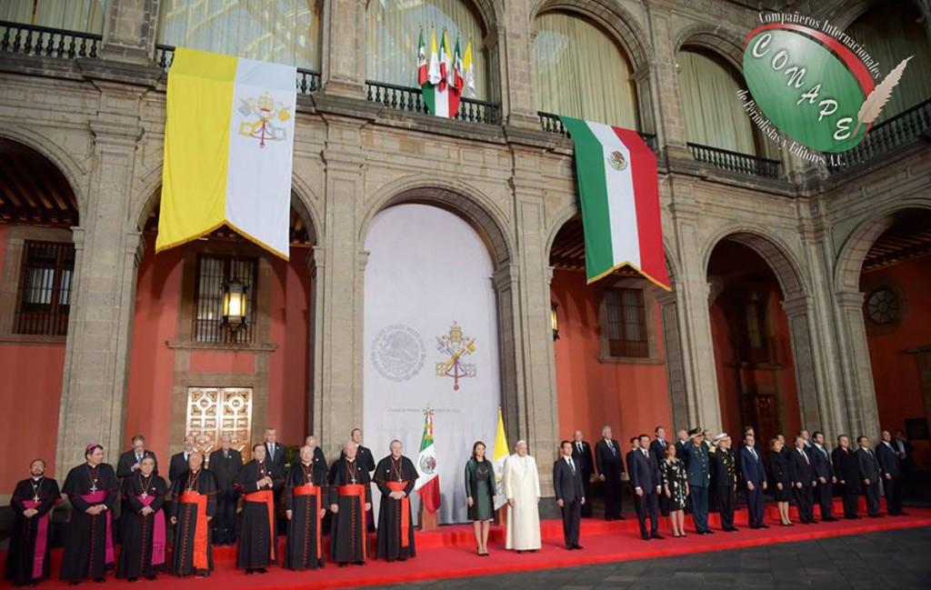 A México vengo como misionero de la misericordia y la paz Papa Francisco