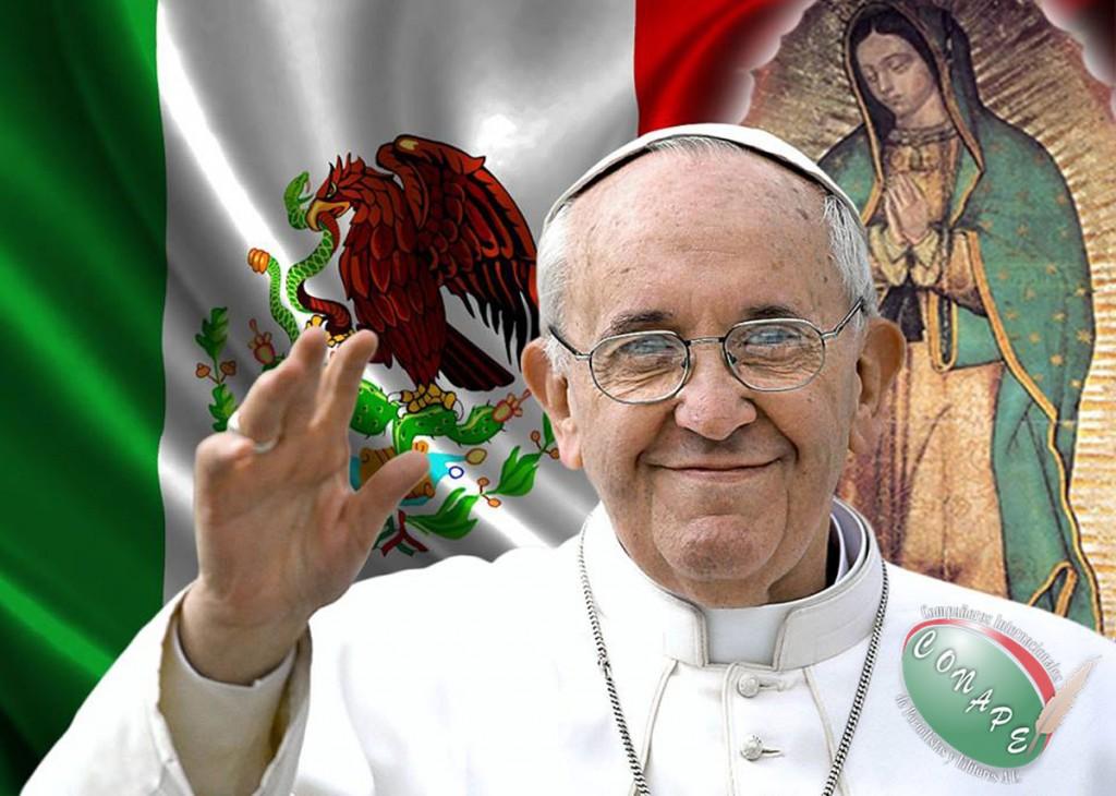 Papa se pone sombrero de Charro y bromea camino a México