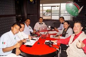 Directivos de CONAPE Internacional en entrevista para Capital FM