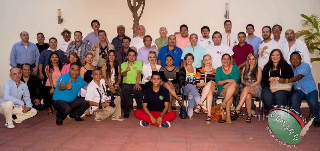 Integrantes de CONAPE en Colima