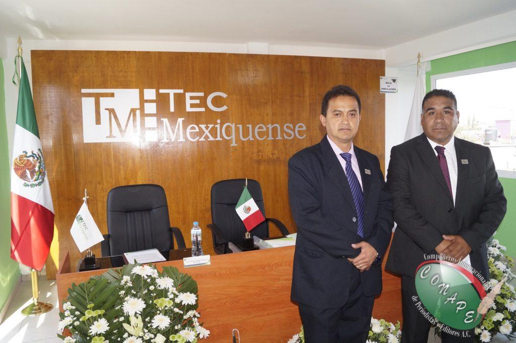 Tec Mexiquense y CONAPE Internacional seguirán trabajando en conjunto para profecionalizar al gremio periodistico