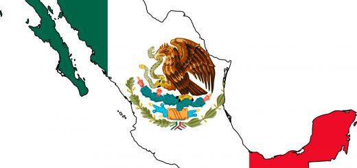 mexico-flag-map