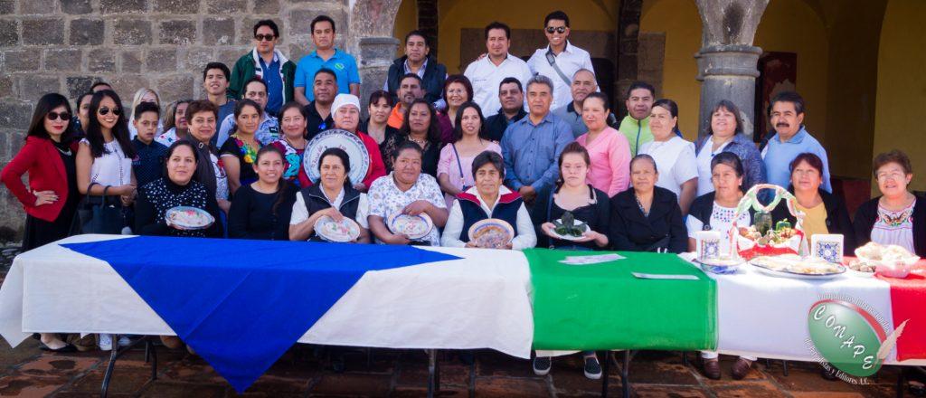 CONAPE conoce la gastronomía de Calpan, Puebla