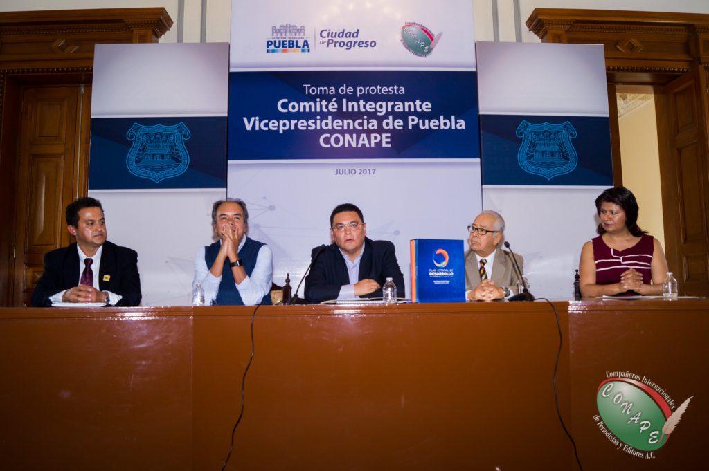CONAPE realiza toma de protesta de la Vicepresidencia de Puebla 26