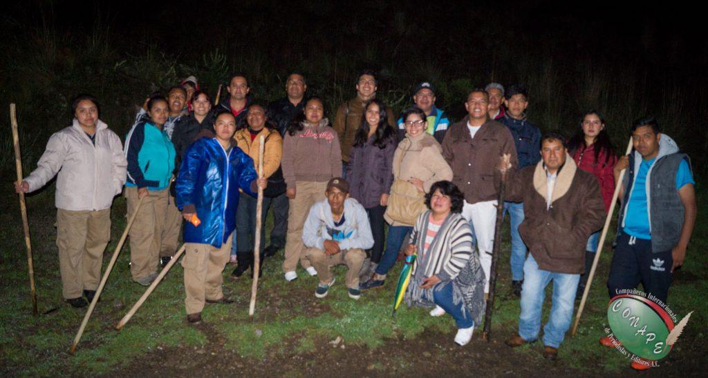 CONAPE visitó la Ruta de las Luciernagas en Santa Rita Tlahuapan, Puebla