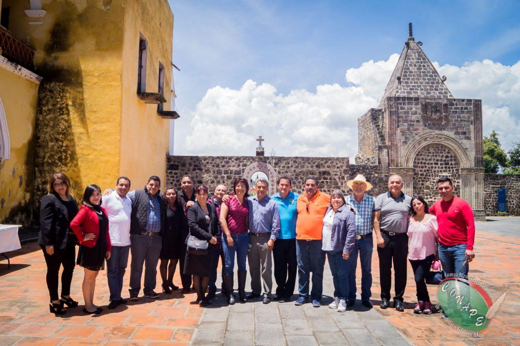 Directivos de CONAPE visitarion diversos municipios de Puebla