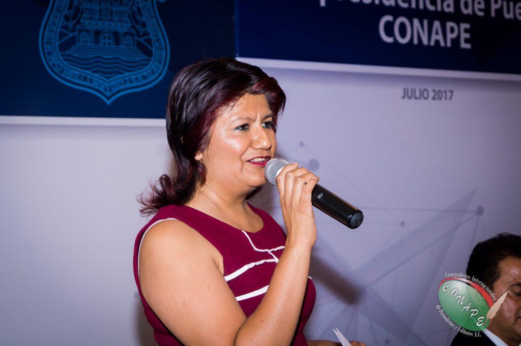 Mirna Toxqui habla de la importancia de la unión de los periodistas en Puebla