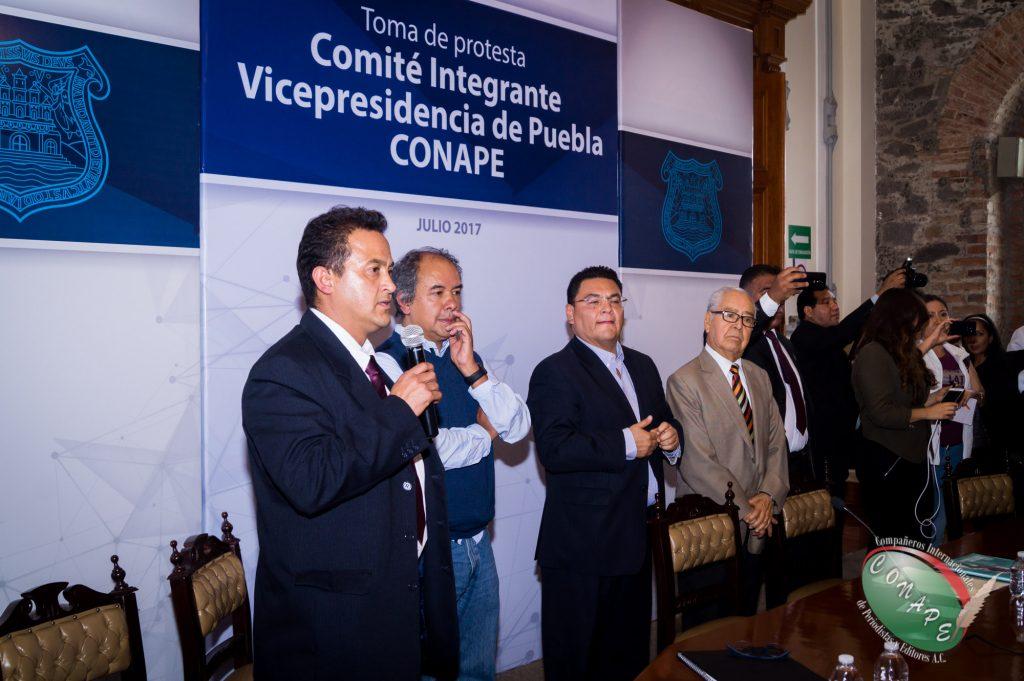 Raúl González, realiza la exposisión de motivos